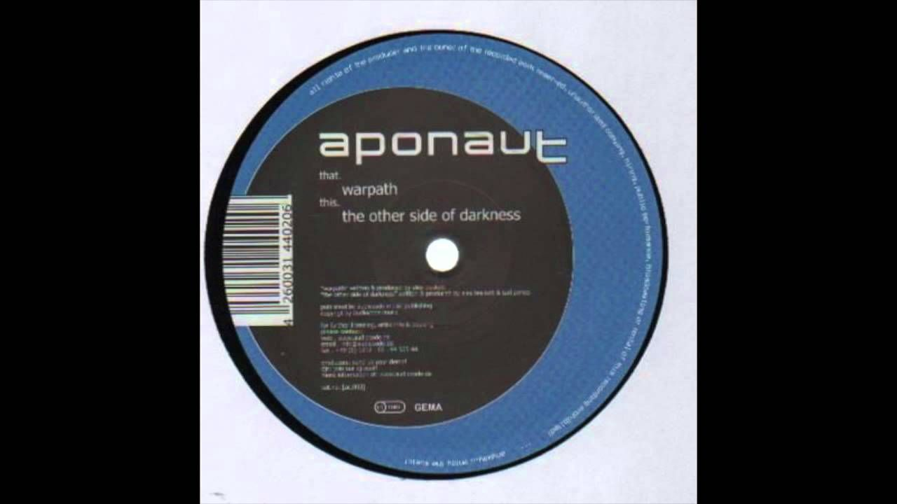 Aponaut The Other Side Of Darkness Music Record The Other Side Dark