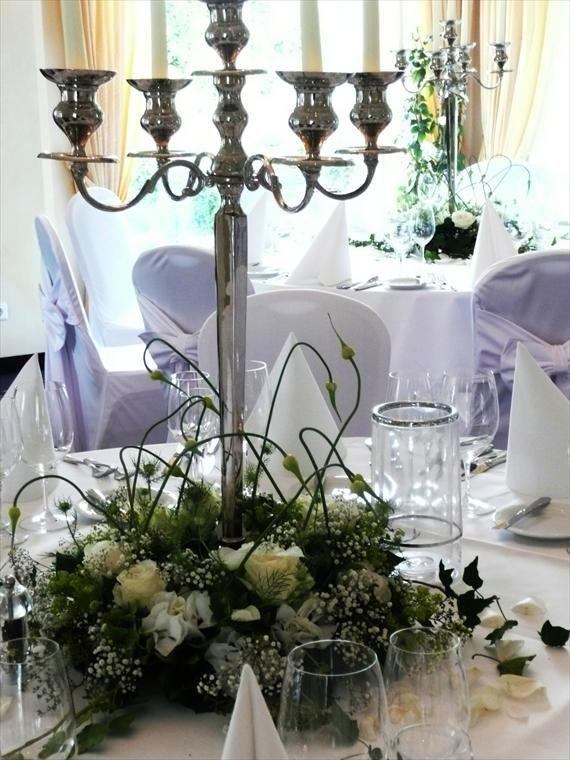 Kerzenleuchter dekoration pinterest blumenschmuck Kerzenleuchter hochzeit