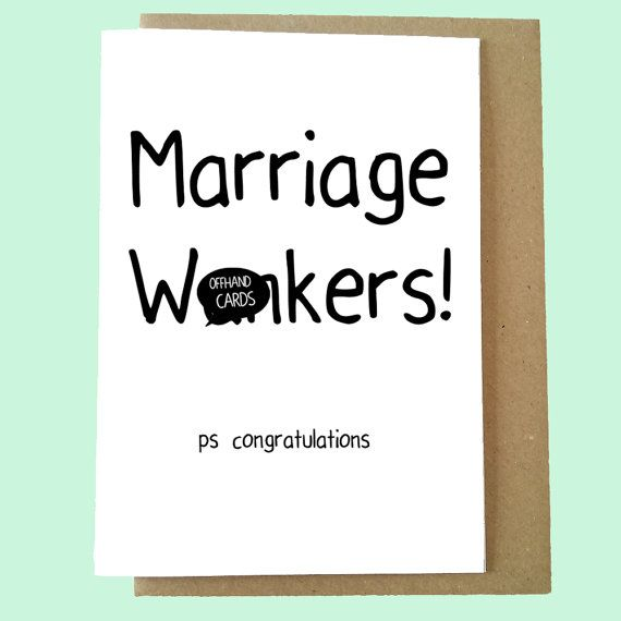 pin on engagement  wedding humour cards