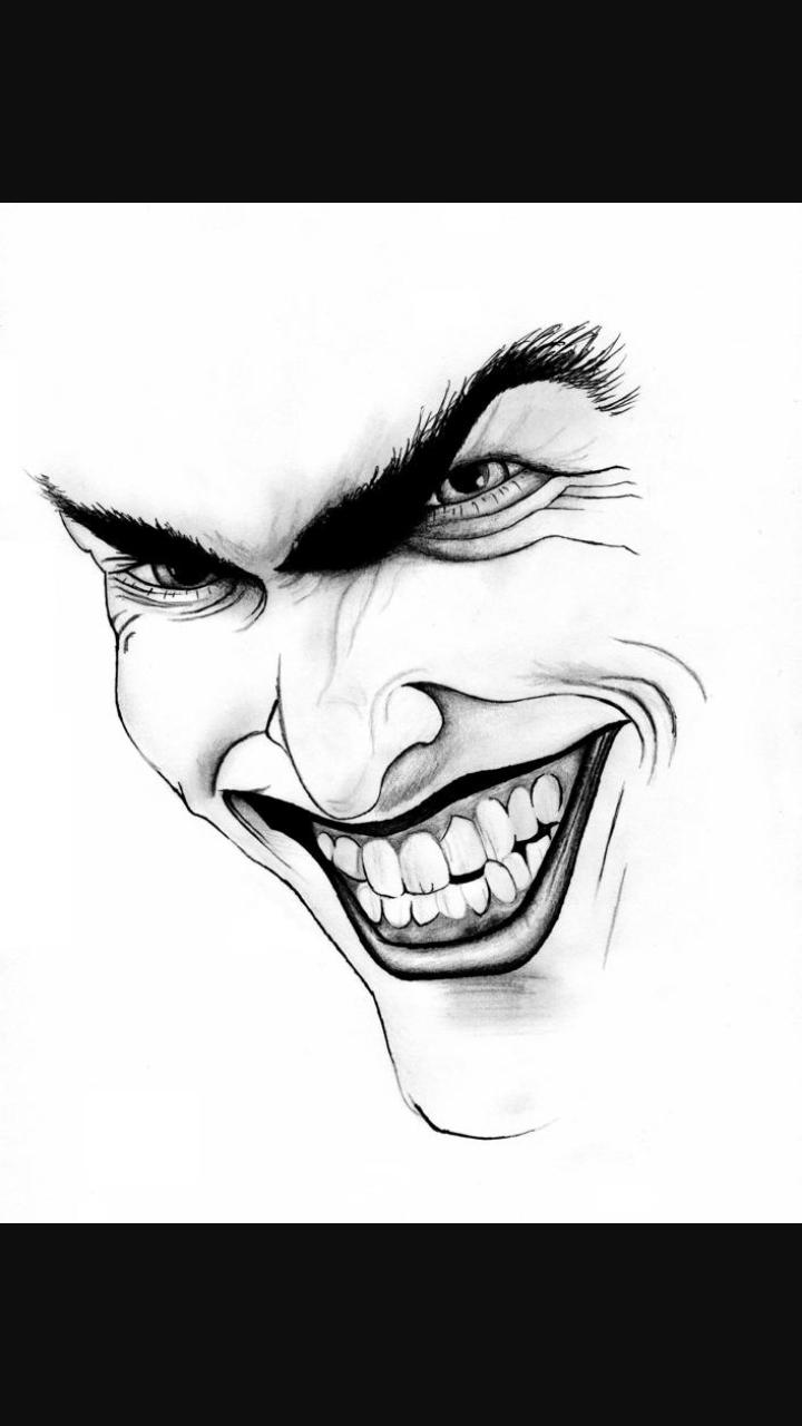 Pin By Miranda Faulkner On Nerdy Joker Drawings Joker Art Drawing Joker Artwork