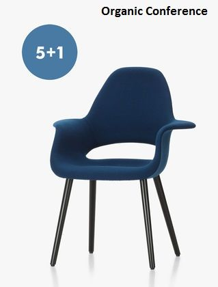 Promoción 5 + 1 de Vitra - Softshell chair, Organic chair, Wire chair :: Moises Showroom