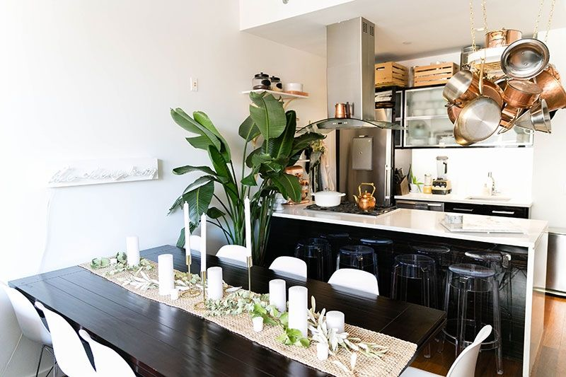 A taste of brooklyn tour this chef s sophisticated for Decoracion departamentos 2 ambientes pequenos
