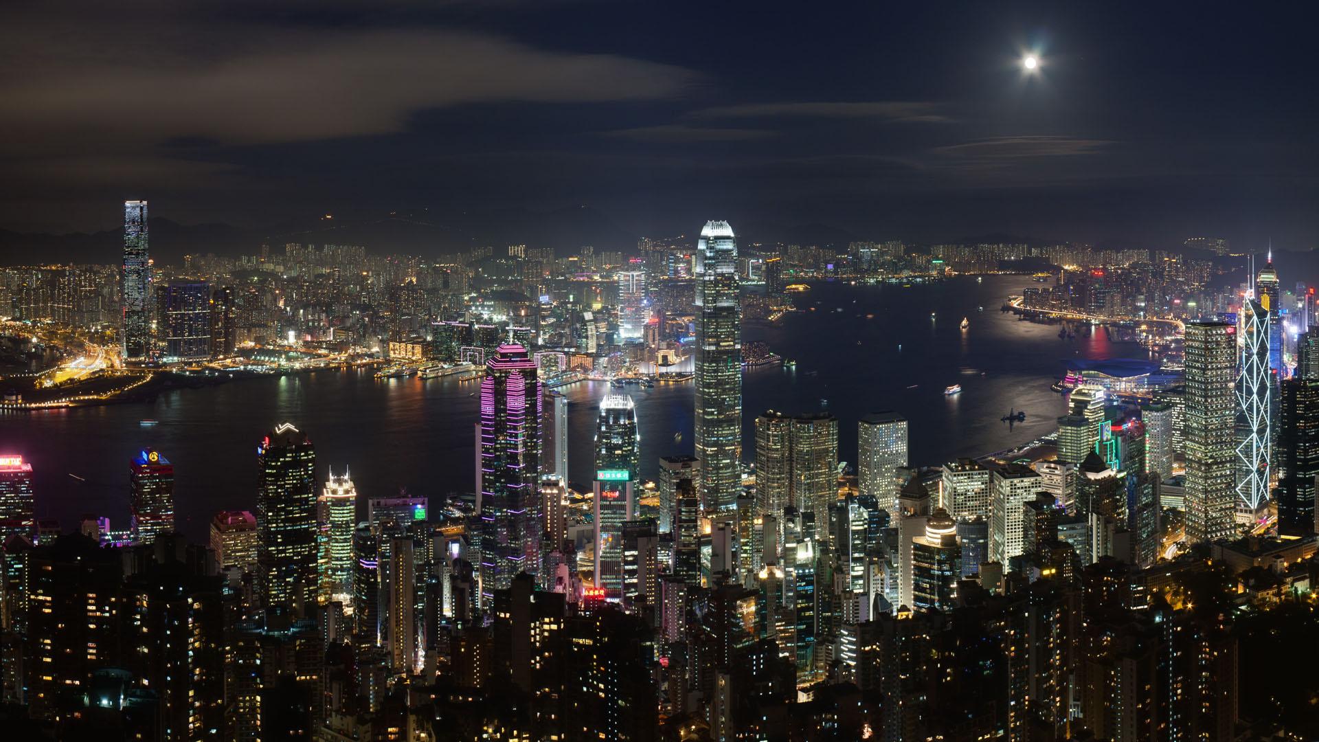 Hong Kong Night View Google Search Hong Kong Night Hong Kong Photography Hong Kong