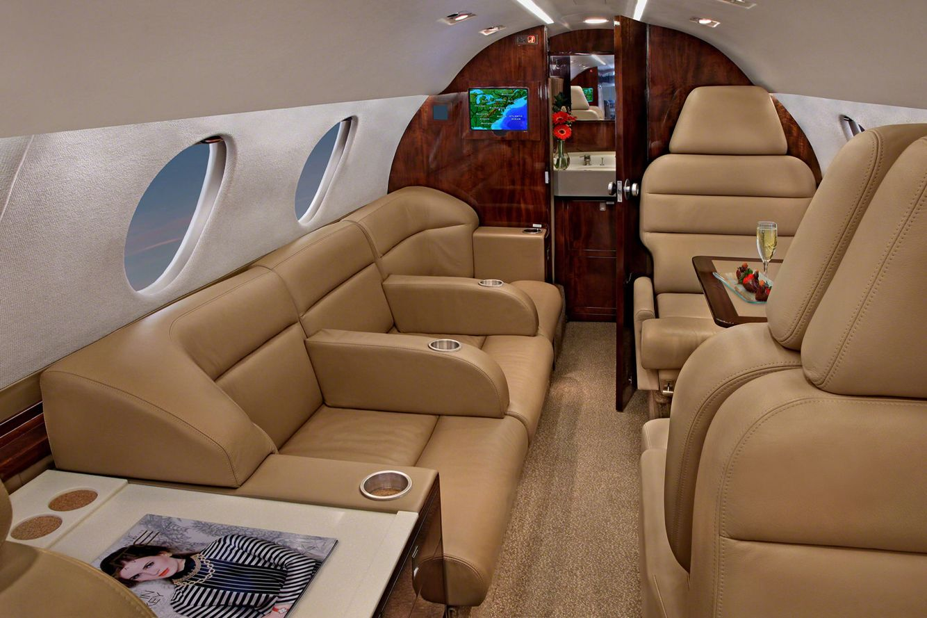 Cessna Citation X Interior Private Jet Interior Private Aircraft Cessna