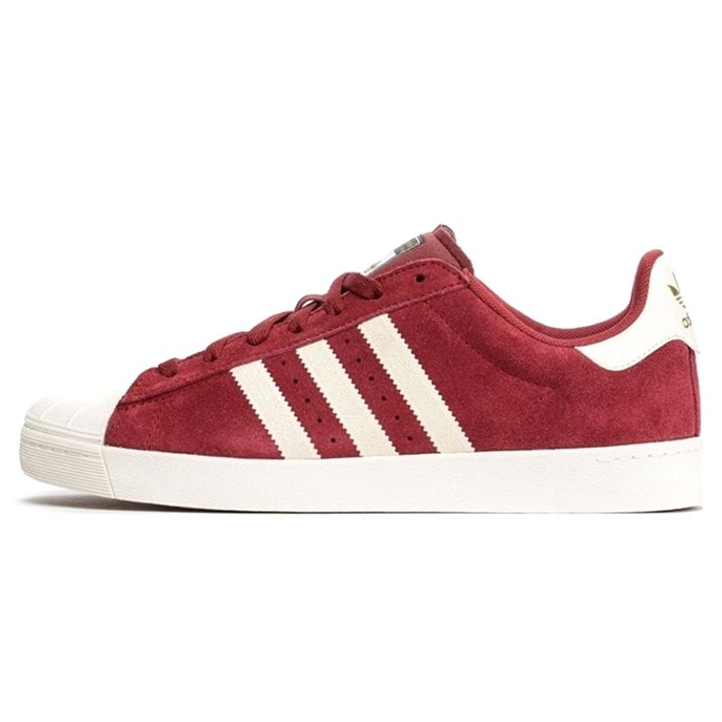 Exclusivo Escoger Acrobacia  Adidas Clover Superstar Vulc ADV Man Skateboarding Shoes ,Wine Red,  Non-slip Lightweight Wearable D68723 | Adidas, Breathable shoes men,  Breathable shoes