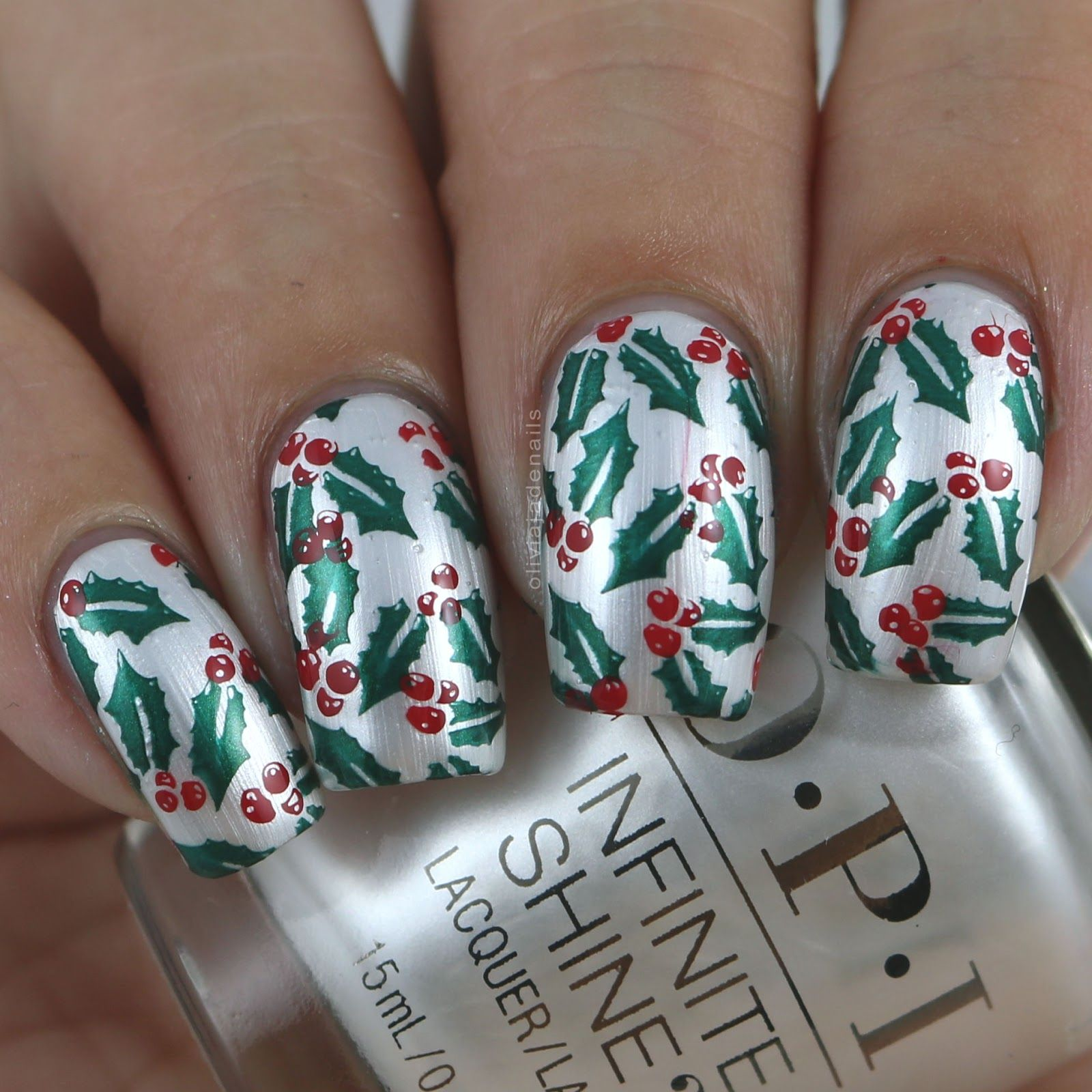 Uberchic Beauty Christmas 02 Stamping Plate Swatches Review