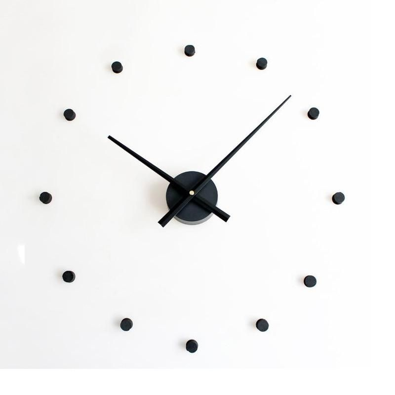 3d Diy Wall Clock Large Size Clocks Sticker Home Decoration Accessories Modern Design Big Wall Watch For Living Room