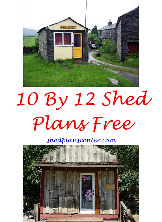 Shed Trap Plans – Garden Shed Plans 10 X 16