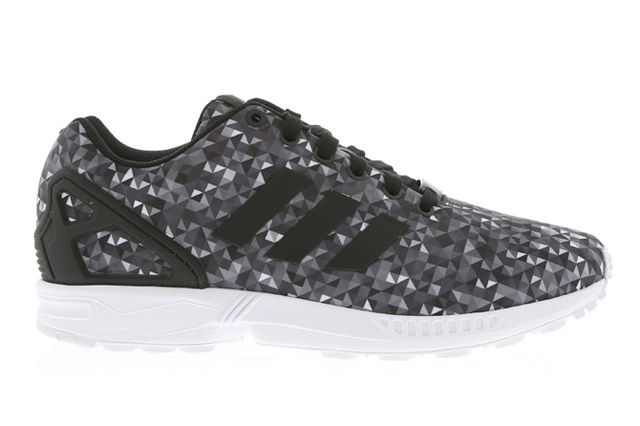 3fe027ca7 ADIDAS ORIGINALS ZX FLUX (MONOCHROME DIAMOND) - Sneaker Freaker ...