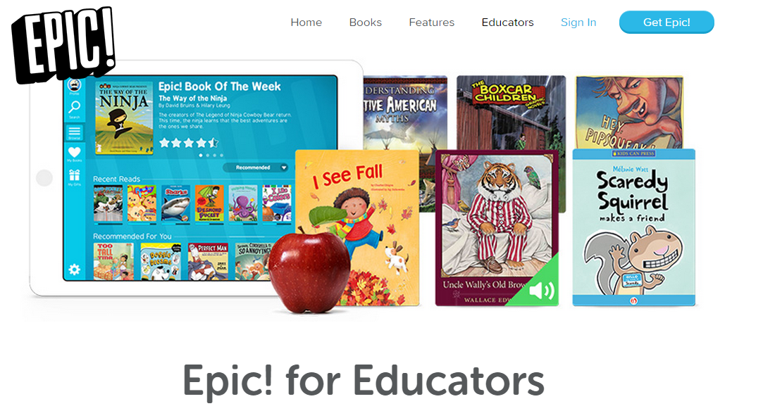 EPIC book appFREE for educators! (Teaching MOMster