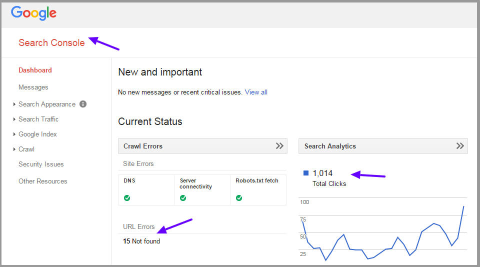 Google Webmaster Search Console Will Help To Manage GoogleS