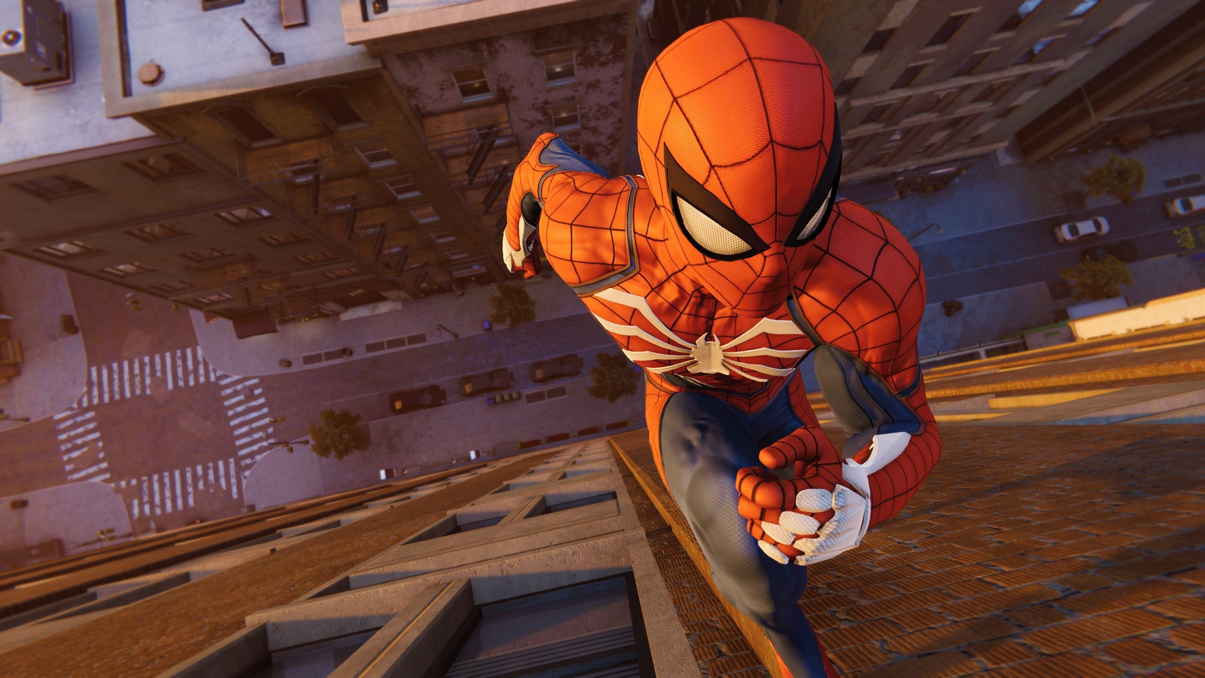 Wallpapers open world, Insomniac Games, spiderman
