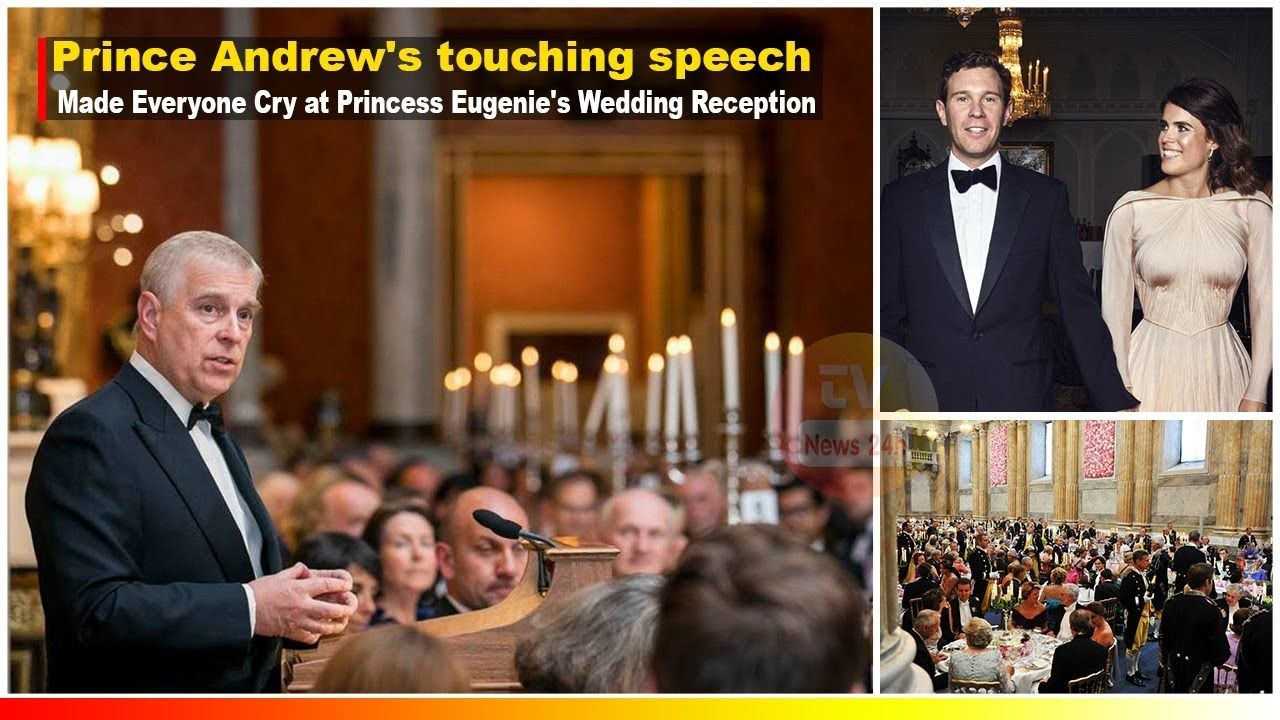 Prince Andrew's Touching Speech made everyone Cry at