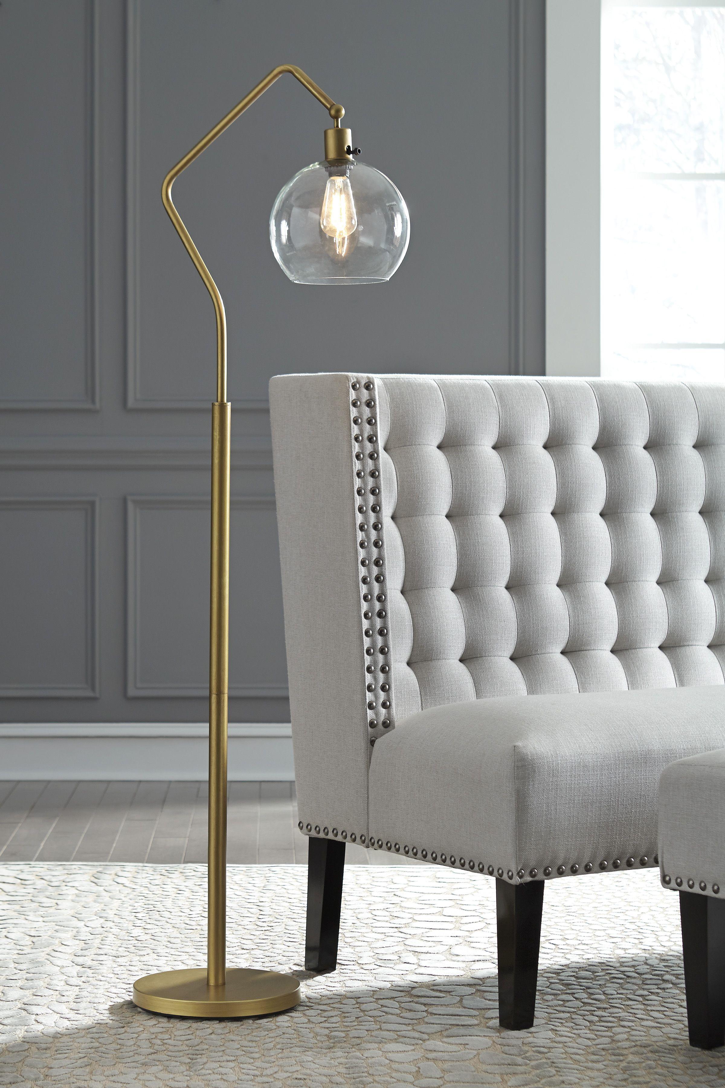 Ashley Marilee Floor Lamp Floor Lamp Brass Floor Lamp Bedroom