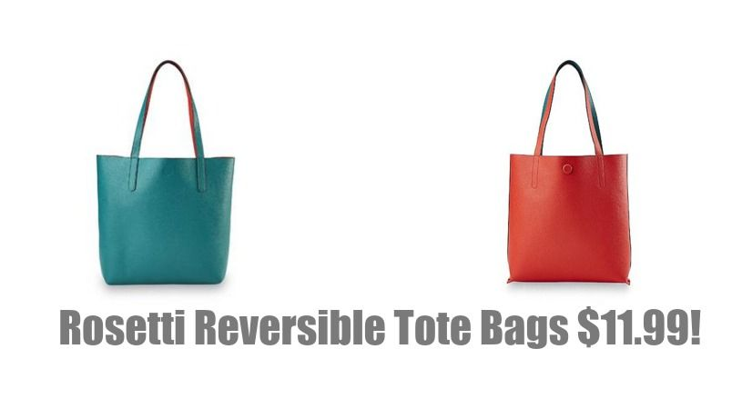 4ac172b359 LOOK! Rosetti Women s Reversible Tote Bag Only  12.74! (Was  40.00 ...