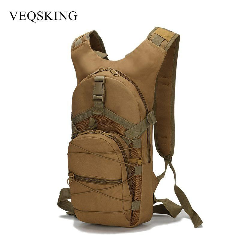 15l 800d Oxford Bicycle Backpacks Women Men Sports Backpack Molle Hydration Camelback For Bicycle Riding 4 Colors Mochilas Militares Mochila Mochila Masculina