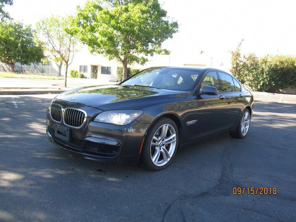 2012 BMW 7 Series 750i 4dr Sedan M PKG 4.4L V8 Twin