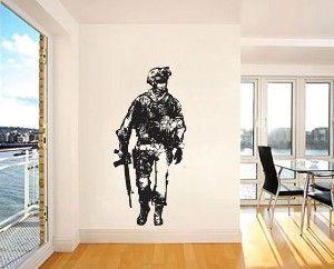 Call Of Duty Modern Warfare 2 Vinyl Wall Decal 0014wd Vinyl Wall Decals Vinyl Wall Art Decals Wall Decor Stickers