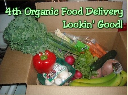 Todays organic food delivery and a kale recipe homemade by jade todays organic food delivery and a kale recipe forumfinder Images