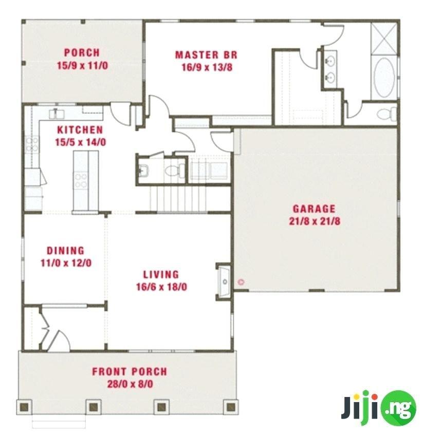 5 Bedroom Bungalow Plans In Nigeria Lovely 4 Bedroom Bungalow House Plans In 5 Bedroom Bungalow Plans In In 2020 Bungalow House Plans House Plans Bungalow Floor Plans