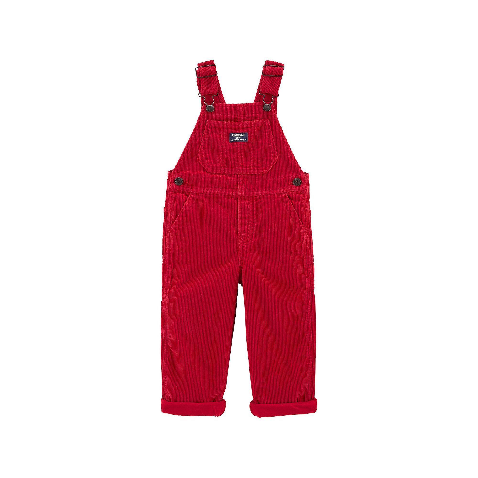 OshKosh B/'Gosh boy/'s lined overalls size 2T