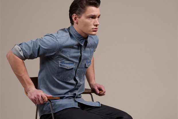 Joe Casely-Hayford for John Lewis 2012 Fall/Winter Collection.