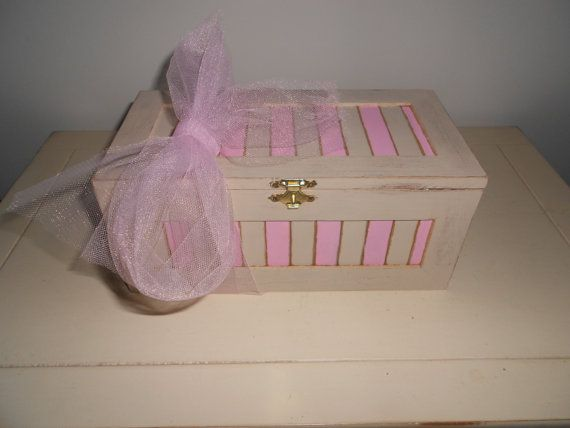 Baby Girl Jewelry Box by SweetThrees on Etsy, $48.00