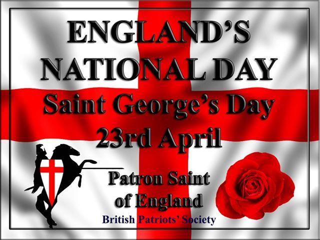 Happy St. George's Day! 824488df577a2adeb2825cc678b8b0fa