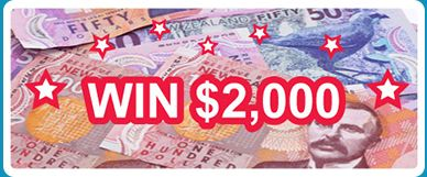 Chance to win $2,000