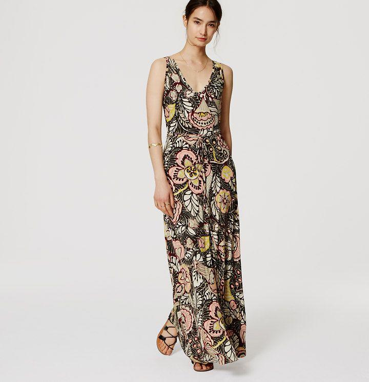782e280b26c Floral Double V Maxi Dress