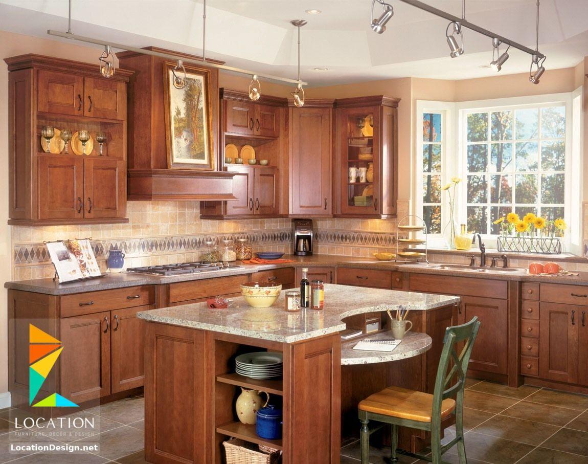 مطابخ خشب صغيرة 2018 2019 لوكشين ديزين نت Tuscan Kitchen Kitchen Layout Kitchen Remodel