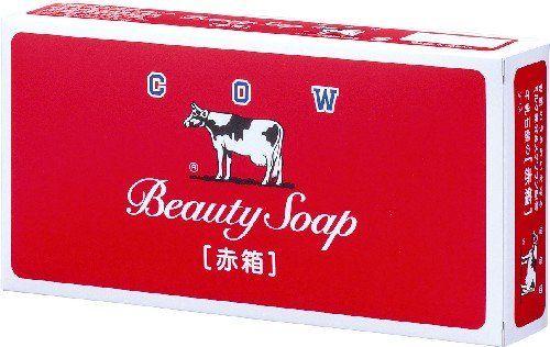 牛乳石鹸で洗顔