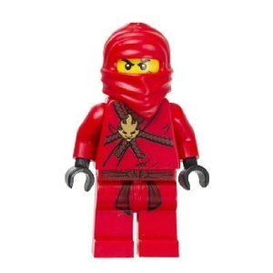 Lego Child Ninjago Kia Plastic Mask Costume Red One Size New!