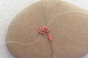 How to Make a Daisy Chain Beading Stitch