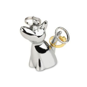 Zoola Dog Ring Holder ... cute, cute, cute and functional.  What's not to love?