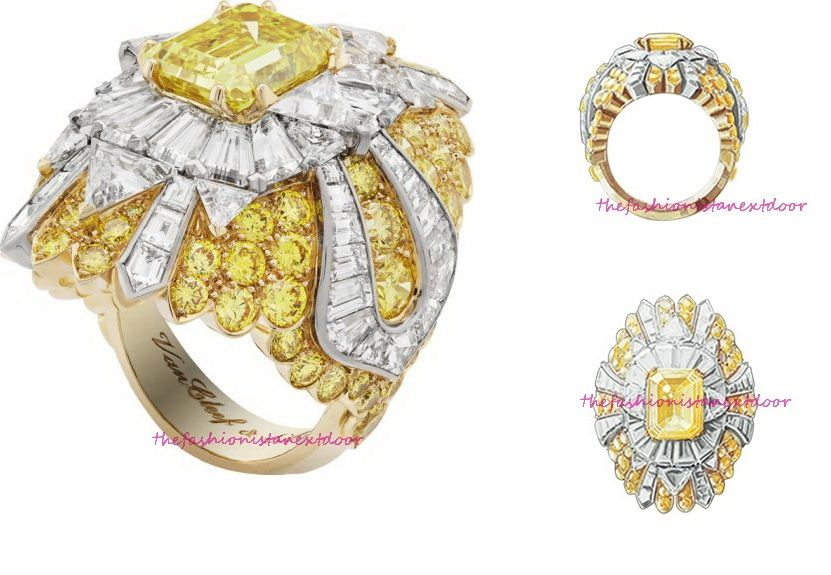 Beauté Céleste Ring- Peau d'Âne- Fine Jewelry Collection by Van Cleef & Arpels