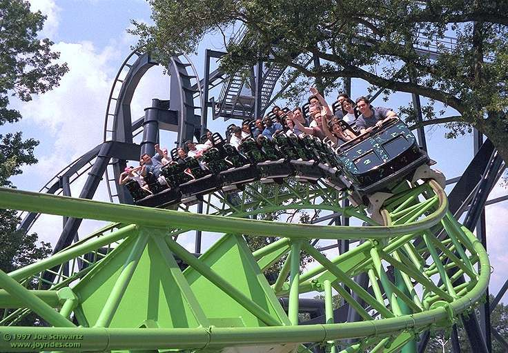 Mind Bender Six Flags Over Georgia Austell Georgia Usa Roller Coaster Roller Coaster Ride Amusement Park Rides