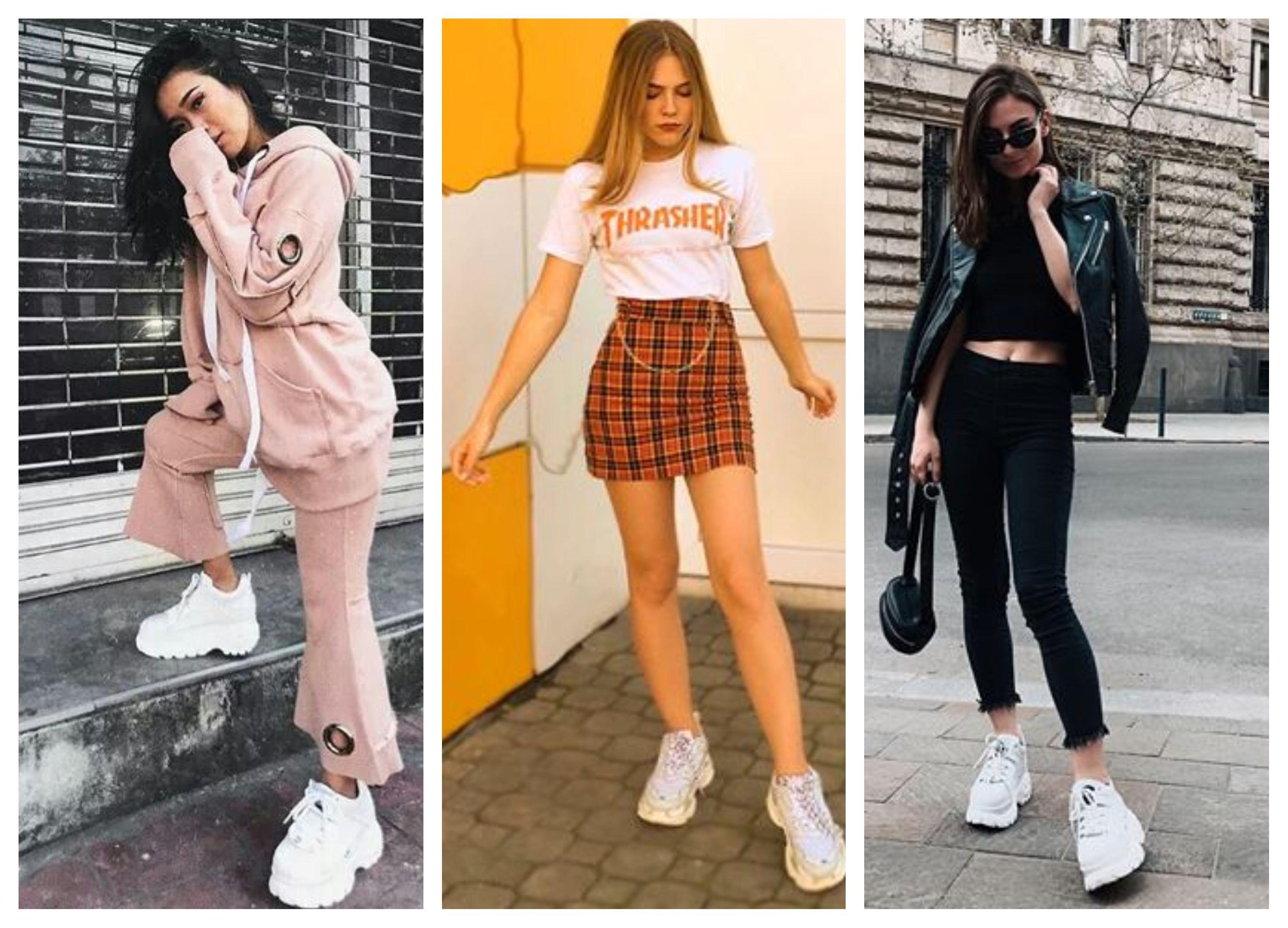 Tenis Buffalo Tenis Buffalo Tenis Moda Blogueira Trend 2019 Tenis Da Moda Feminino Ideias Fashion Moda