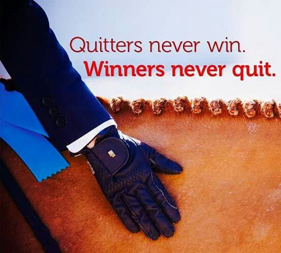 Quitters Never Win Winners Never Quit With Images