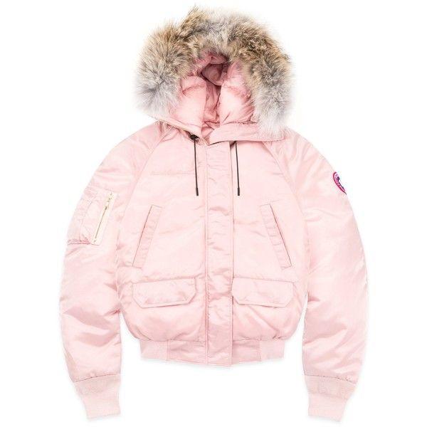 canada goose ovo pink coat