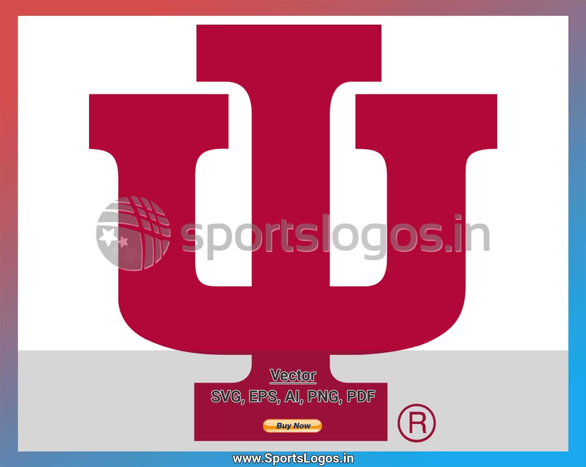 Indiana Hoosiers College Sports Vector Svg Logo In 5 Formats Spln001979 Sports Logos Embroidery Vector For Nfl Nba Nhl Mlb Milb And More In 2020 Embroidery Logo College Sports Sports Logo
