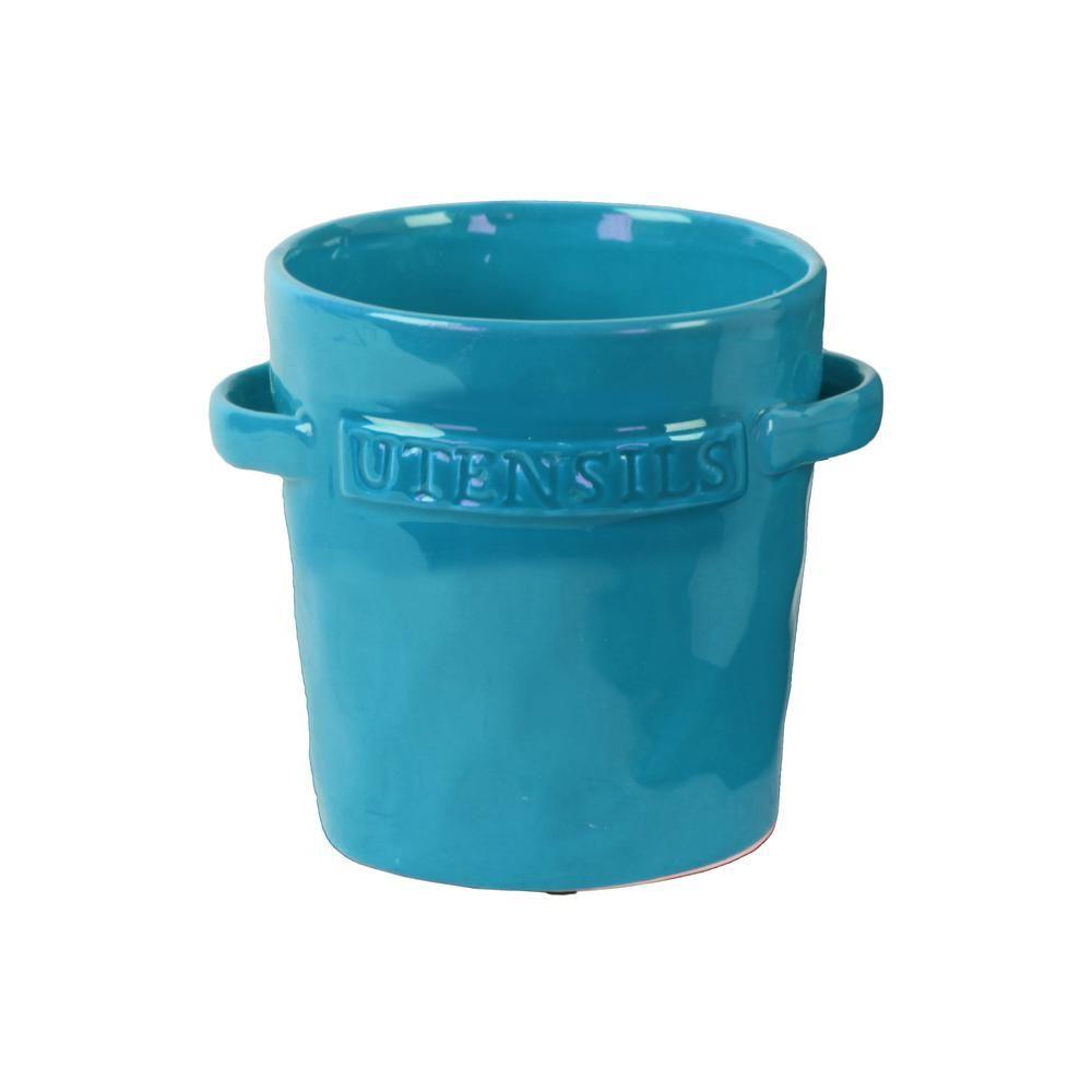 Turquoise gloss ceramic decorative vase turquoisesaquas turquoise gloss ceramic decorative vase turquoisesaquas reviewsmspy