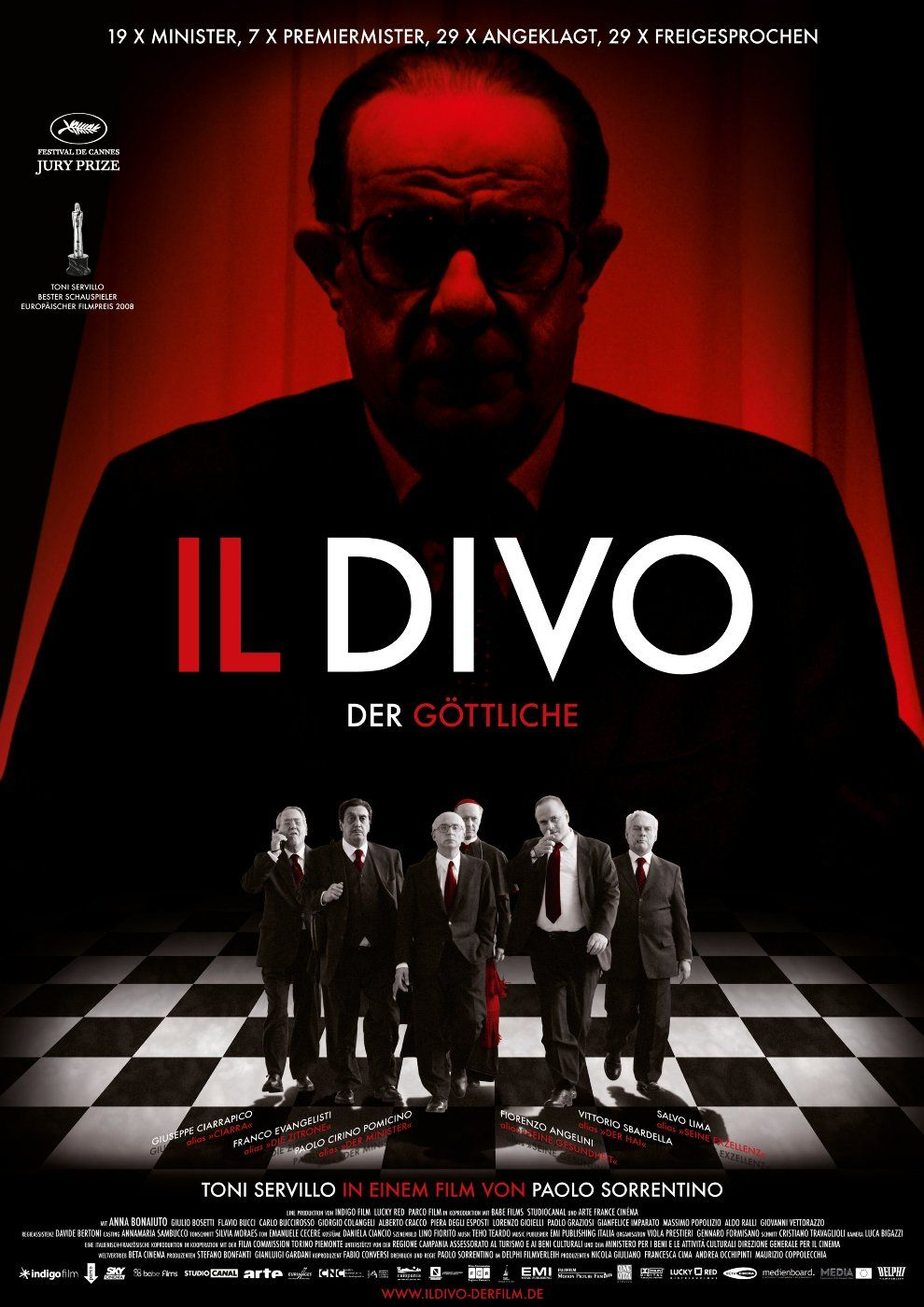 Il divo 2008 by paolo sorrentino recent films movie creator film posters e cinema posters - Andreotti il divo ...