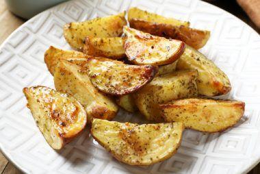 Receta de patatas al horno con piel