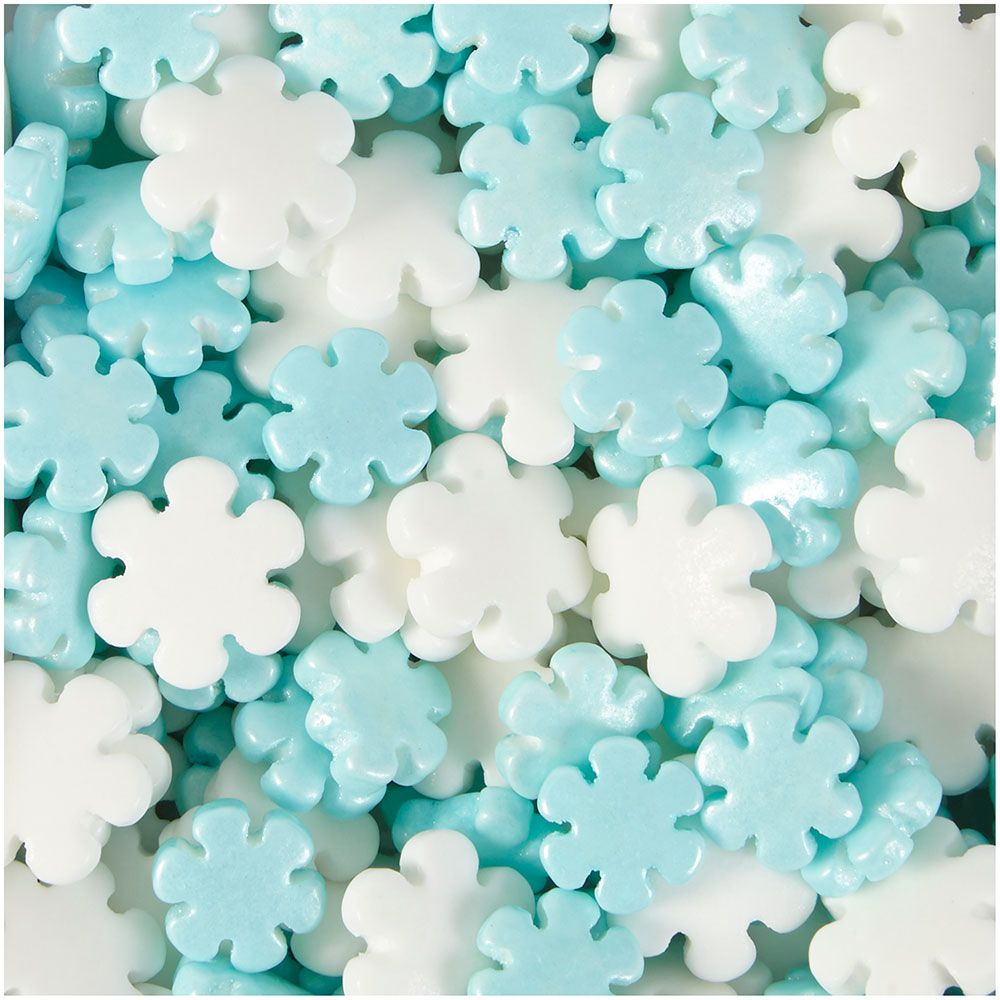 Pearlized Snowflake Sprinkles 710 5070 Country Kitchen