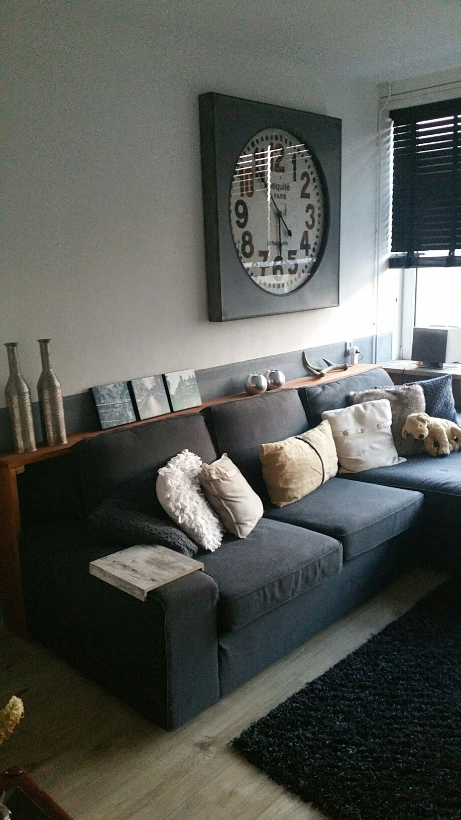 Iets Nieuws Sidetable achter de bank | interier in 2019 - Living room decor @DS64