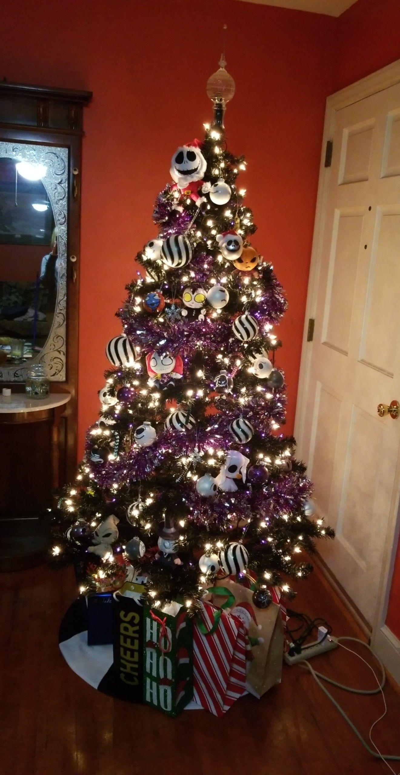 Nightmare Before Christmas Tree Nightmare Before Christmas Wreath Nightmare Before Christmas Decorations Nightmare Before Christmas Ornaments