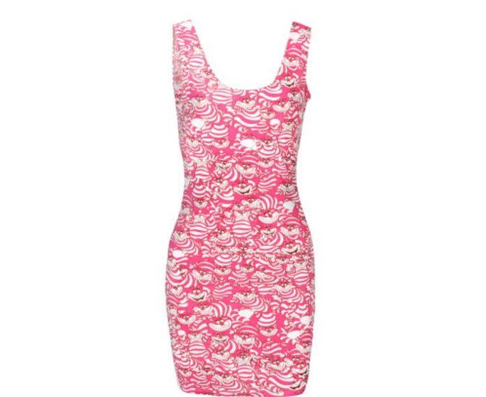 Dámské letní šaty s originálním potiskem růžové – dámské šaty + POŠTOVNÉ  ZDARMA Na tento produkt se vztahuje nejen zajímavá sleva 7f052d3e77