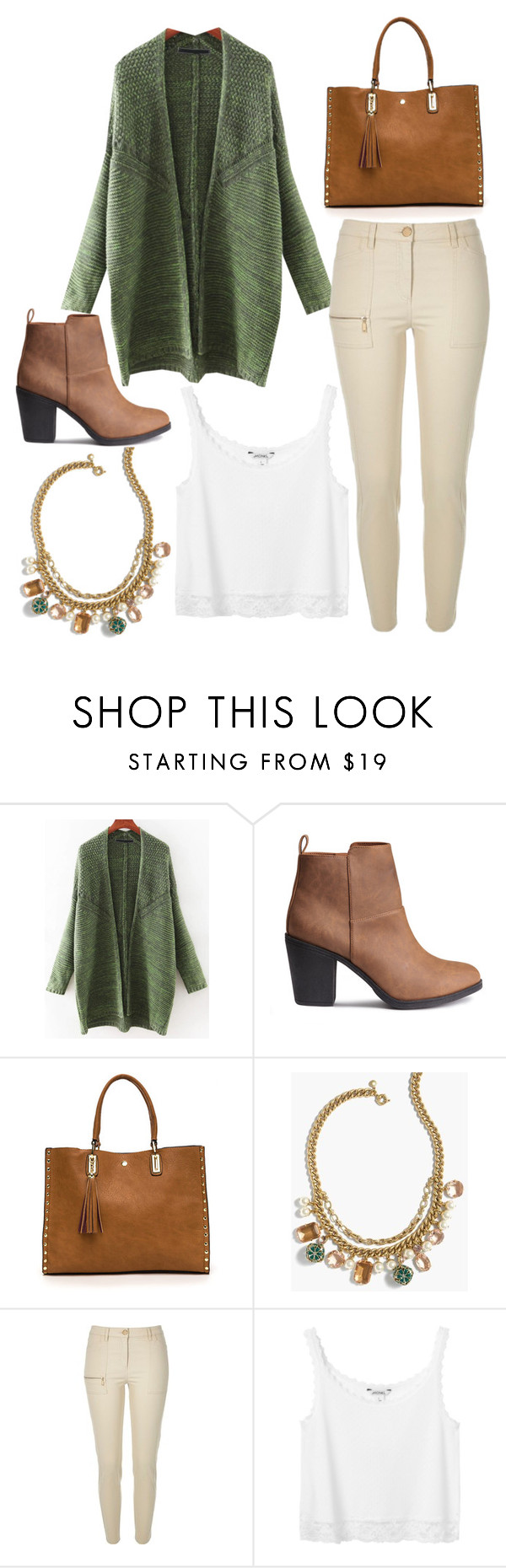 """""""Untitled #8643"""" by beatrizibelo ❤ liked on Polyvore featuring J.Crew, River Island and Monki"""