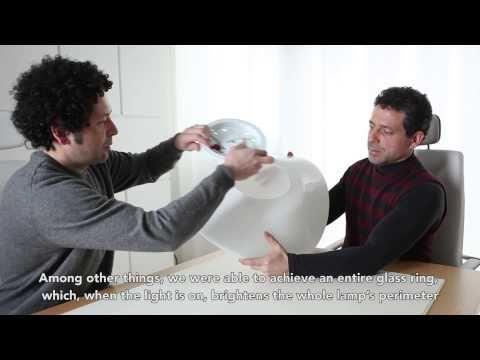 Pio and Tito Toso raccontano come nasce la lampada Balance creata per Vetreria Vistosi